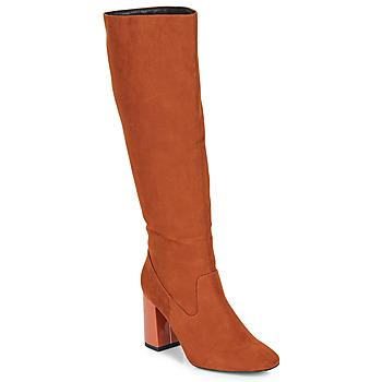Chaussures Femme Bottes ville André LUXURY Orange