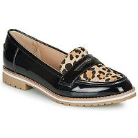 Chaussures Femme Mocassins André PORTLAND LEOPARD
