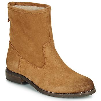 Schuhe Damen Boots André ERIKA Ocker