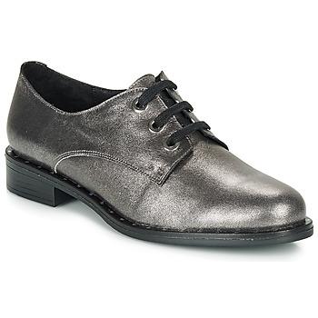 Schuhe Damen Derby-Schuhe André NEWCASTLE Silbern