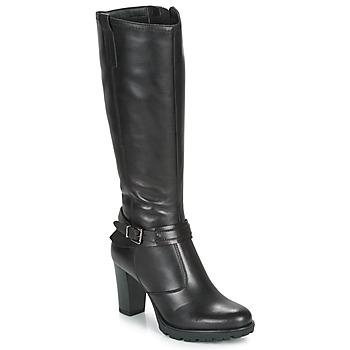 Chaussures Femme Bottes ville André NADA Noir