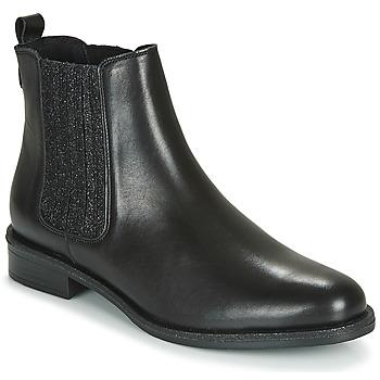 Schuhe Damen Boots André LETKISS Schwarz