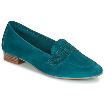 Schuhe Damen Slipper André NAMOURS Blau