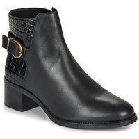 Schuhe Damen Low Boots André MIRLITON Schwarz