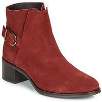 Schuhe Damen Low Boots André MIRLITON Rot