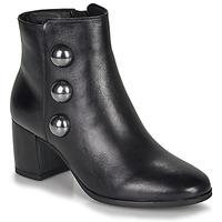 Schuhe Damen Low Boots André NELLA Schwarz