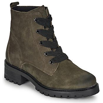 Schuhe Damen Boots André ELISE Khaki