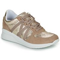 Schuhe Damen Sneaker Low André ALLURE Gold