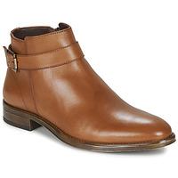 Schuhe Herren Boots André NORDY Kognac