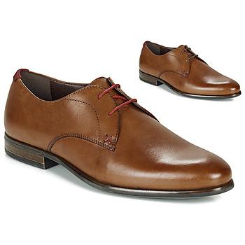 Schuhe Herren Derby-Schuhe André VEZA Kognac