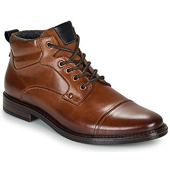 Chaussures Homme Boots André VABON Marron