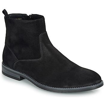 Chaussures Homme Boots André LEMAN Noir