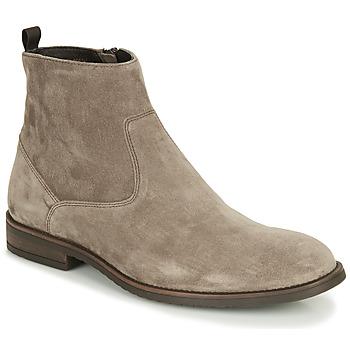 Schuhe Herren Boots André LEMAN Grau