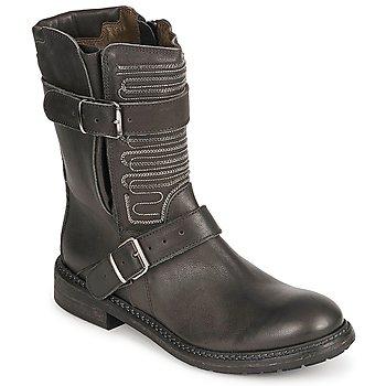 Schuhe Damen Boots Fru.it ARLINE Schwarz