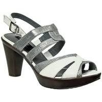 Chaussures Femme Sandales et Nu-pieds Fugitive Qinoa blanc blanc