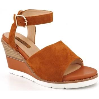 Chaussures Femme Sandales et Nu-pieds Fugitive Iber Marron