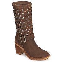 Chaussures Femme Bottes ville Meline DOTRE marron