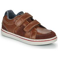 Schuhe Jungen Sneaker Low André THEOPHILE Braun