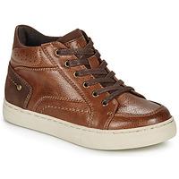 Schuhe Jungen Sneaker High André FABOU Braun,