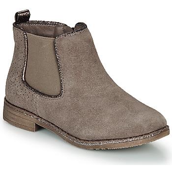 Schuhe Mädchen Boots André CIARA Beige