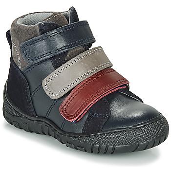 Chaussures Garçon Boots André NOAM Marine