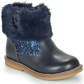 Schuhe Mädchen Boots André ADELA Marineblau