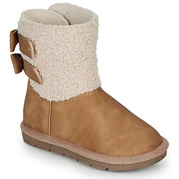 Schuhe Mädchen Boots André ZAPALA Beige