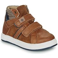 Scarpe Bambino Sneakers alte André TIMOTHE Marrone