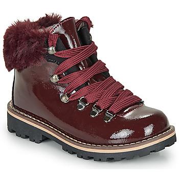 Chaussures Fille Boots André SANDY Bordeaux