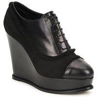 Schuhe Damen Ankle Boots Moschino Cheap & CHIC CA1014 Schwarz