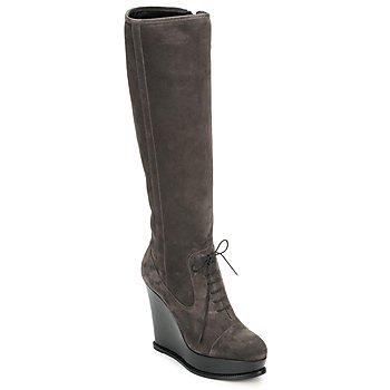 Schuhe Damen Klassische Stiefel Moschino Cheap & CHIC CA2603 Maulwurf