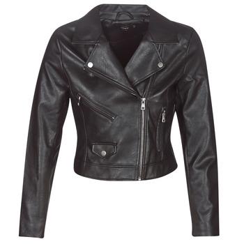 Vêtements Femme Vestes en cuir / synthétiques Only ONLENYA Noir