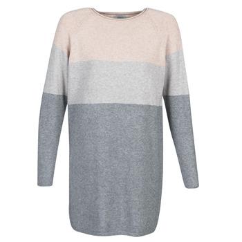 Vêtements Femme Robes courtes Only ONLLILLO Gris / Rose