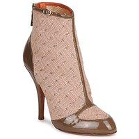 Chaussures Femme Bottines Missoni LISCIA Beige / Marron