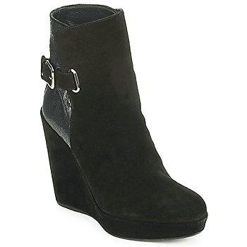 Schuhe Damen Low Boots Stuart Weitzman PARAGRAPH Schwarz