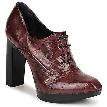 Schuhe Damen Ankle Boots Fabi FD9734 Braun