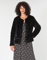 Abbigliamento Donna Cappotti Lauren Ralph Lauren FAUX CHUBBY Nero