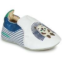 Schuhe Jungen Hausschuhe Catimini COFFI VTE RAYE MARINE DPF/SOUPLE