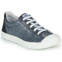 Chaussures Fille Baskets basses GBB MATIA VTE MARINE ARGENT DPF/MILENA