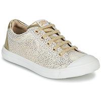 Chaussures Fille Baskets basses GBB MATIA CRT BLANC IMPR-OR DPF/MILENA