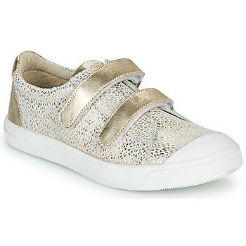 Scarpe Bambina Sneakers basse GBB NOELLA CRT BLANC IMPR-OR DPF/MILENA