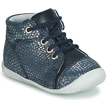 Scarpe Bambina Sneakers alte GBB OLSA VTE MARINE ARGENT DPF/KEZIA