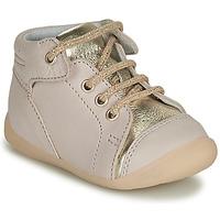 Chaussures Fille Baskets montantes GBB OLSA VTC BEIGE ROSE DPF/KEZIA