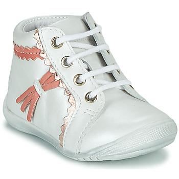 Chaussures Fille Boots GBB ACINTA VTE BLANC DPF/KEZIA