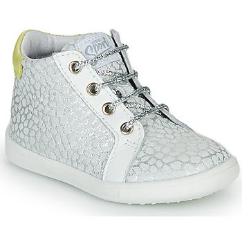Scarpe Bambina Sneakers alte GBB FAMIA CTV GRIS IMPR-BLANC DPF/MESSI