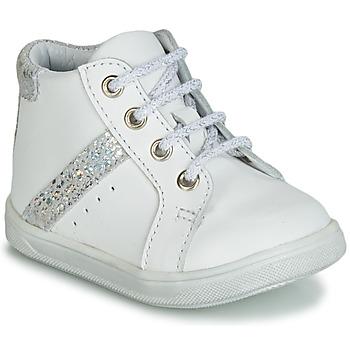 Scarpe Bambina Sneakers alte GBB AGLAE VTC BLANC DPF/NEYMAR