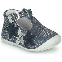 Chaussures Fille Ballerines / babies GBB AGATTA VTE MARINE ARGENT DPF/KEZIA