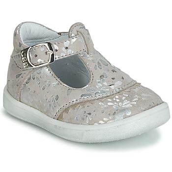 Chaussures Fille Ballerines / babies GBB AGENOR CRT BEIGE IMPRIME DPF/MESSI
