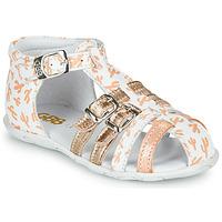 Schuhe Mädchen Sandalen / Sandaletten GBB RIVIERA Weiß