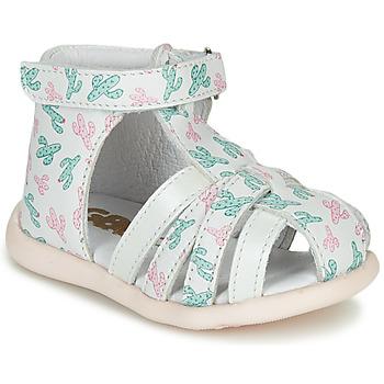 Schuhe Mädchen Sandalen / Sandaletten GBB AGRIPINE Weiß